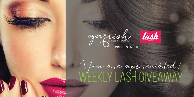 Garish Hair Studios Amazing Lash Giveaway Raleigh Nc