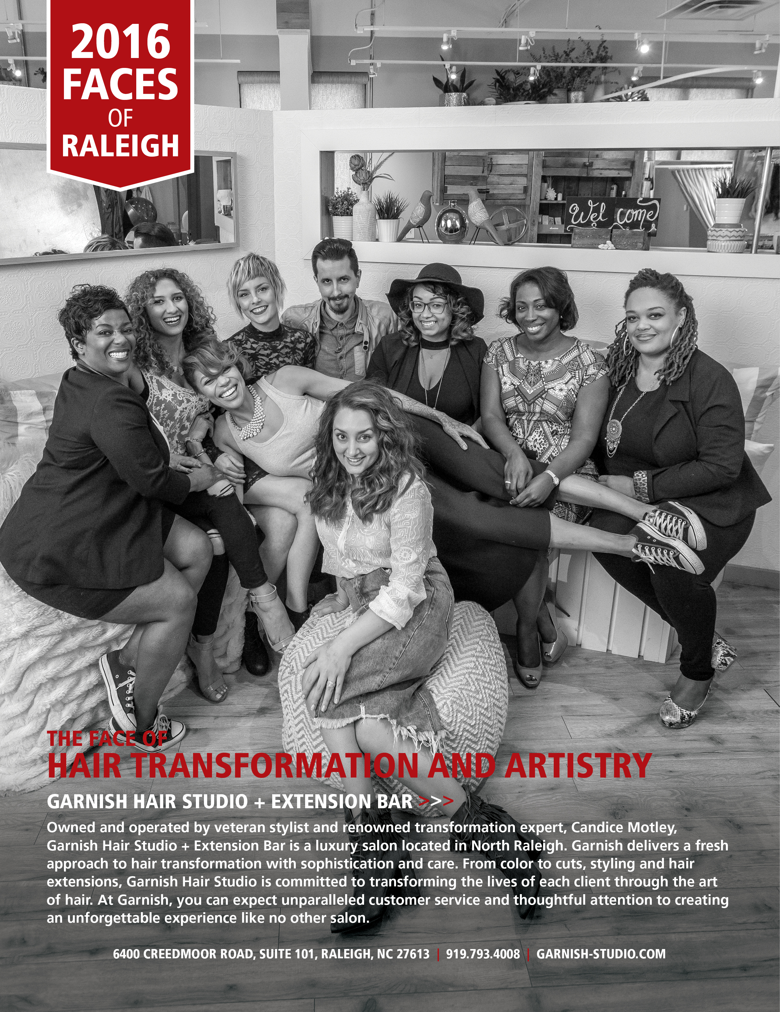 Midtown Magazine 2016 Faces of Raleigh