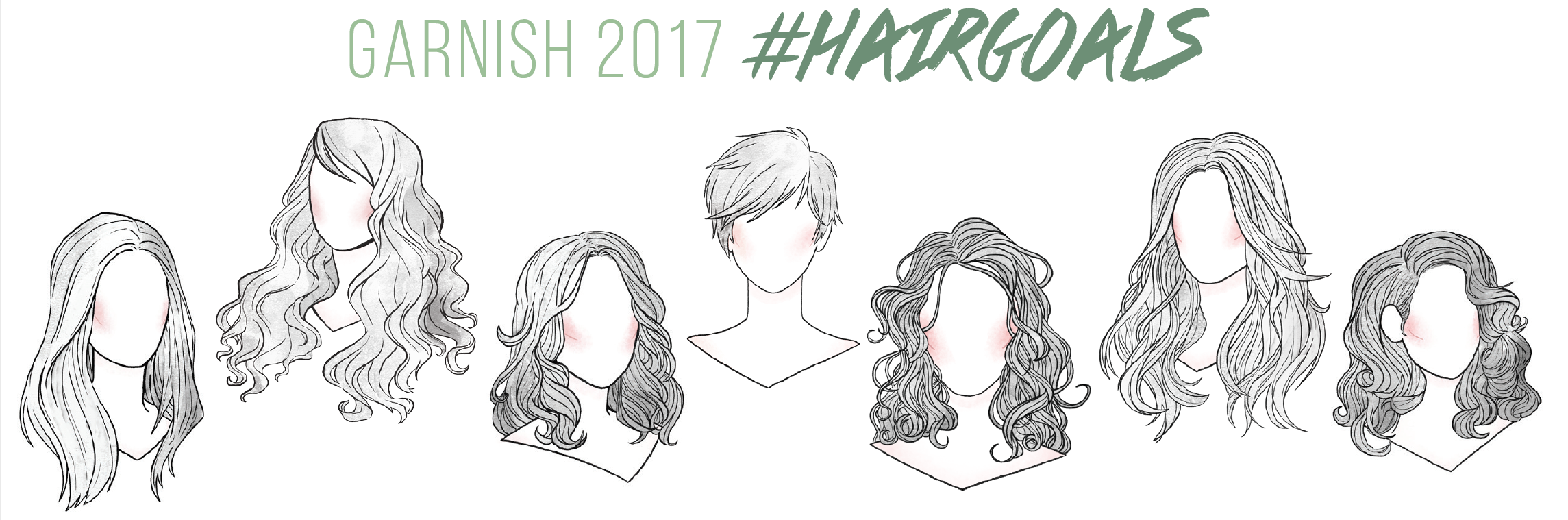 Achieve your #hairgoals with Garnish