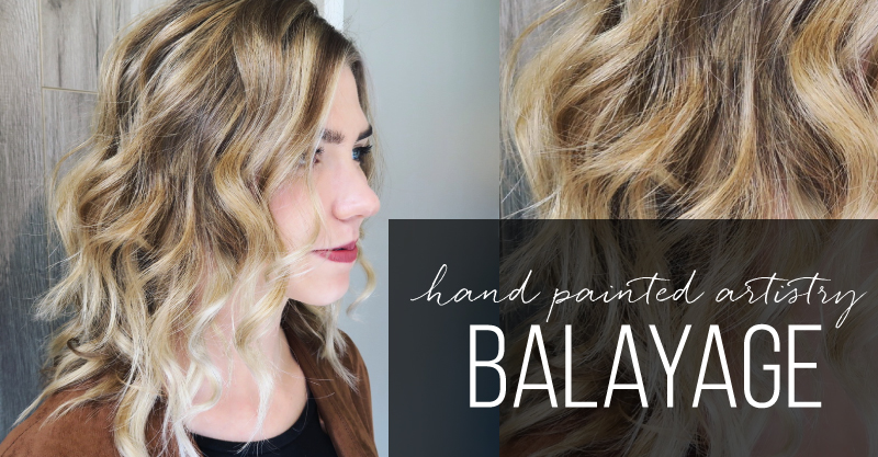 Balayage Hand Painting Garnish Hair Studio