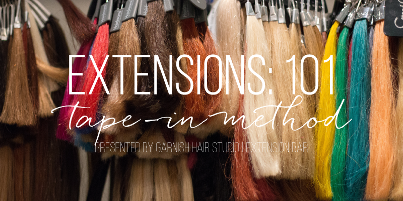 Extensions 101 Tape In Extensions