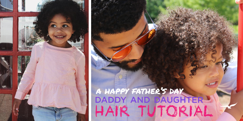 Daddy Daughter Hair Tutorial